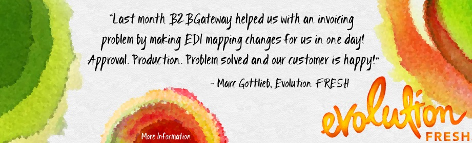 Evolution FRESH gives B2BGateway a great review!