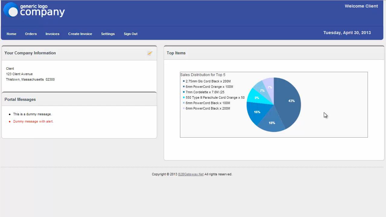 Supplier Vendor Portal
