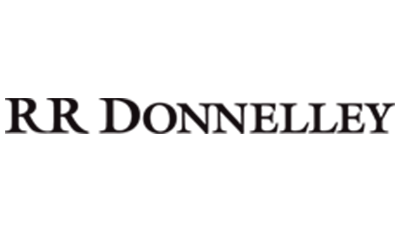 Rr Donnelly logo