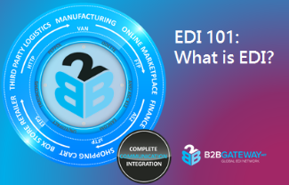 EDI 101: What is EDI? - B2BGateway EDI - Global EDI Provider
