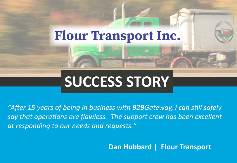 Flour-Transport